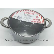 Stainless Steel Single Pot with Color Card