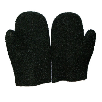 Black particles Jersey liner with mittens