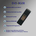 EVD-BG08 Factory Direct Selling Fingerprint U  Disk