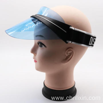 Uv Protection Waterproof Plastic Sun Visor Cap Hat