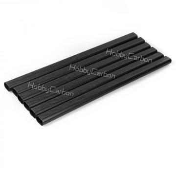 3k carbon fiber tubes cfrp pipes for Octocopter
