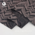 Wave Pattern CVC Jacquard Fabric For Fashion