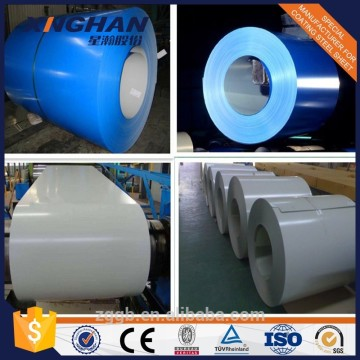 Colorful prepainted galvanized steel coil