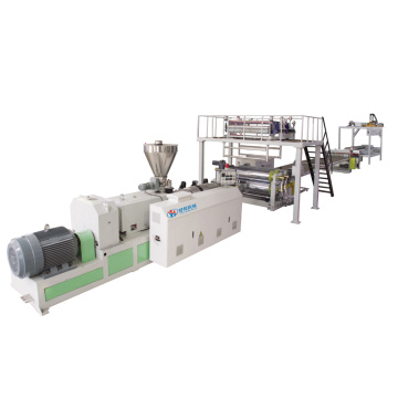 SPC FLOOR EXTRUSION PRODUCTION MACHINE