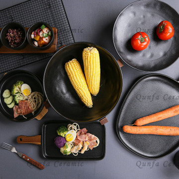 Cooks Essentials Cast-Iron 9pcs Cookware Set-Small Rect Baking Pan with Acacia Handle