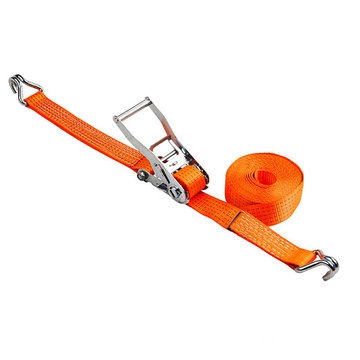 Stainless Steel Ratchet tie down Polyester Cargo Lashing