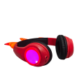 Light Up Rechargeable Wired Over Ear Headphones Earphone