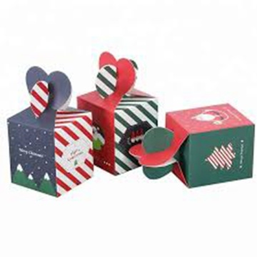 Foldable Decorative Christmas Gift Filbert Nuts Paper Boxes