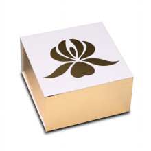 Luxury Collapsible Cosmetics Metallic Paper Box