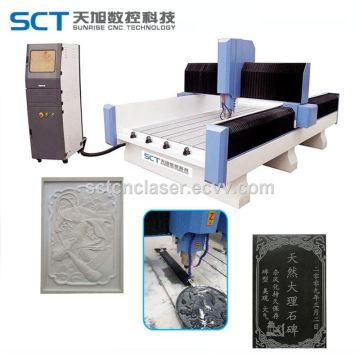 1300*1800mm Natural Stone Engraving Machine CNC 3D