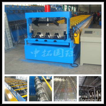 Pass CE and ISO Steel Structure Material Floor Deck Roll Forming Machine