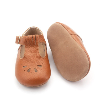 Genuine Cow leather Baby Girl Dress Shoes