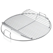 Charcoal burning grates stainless steel barbecue grill