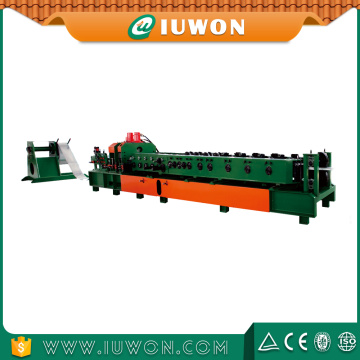 C Z Galvanized Steel Purlin Roll Forming Machine