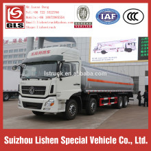 Oil Tanker Dongfeng 8*4 Fuel Trailer Tank Truck