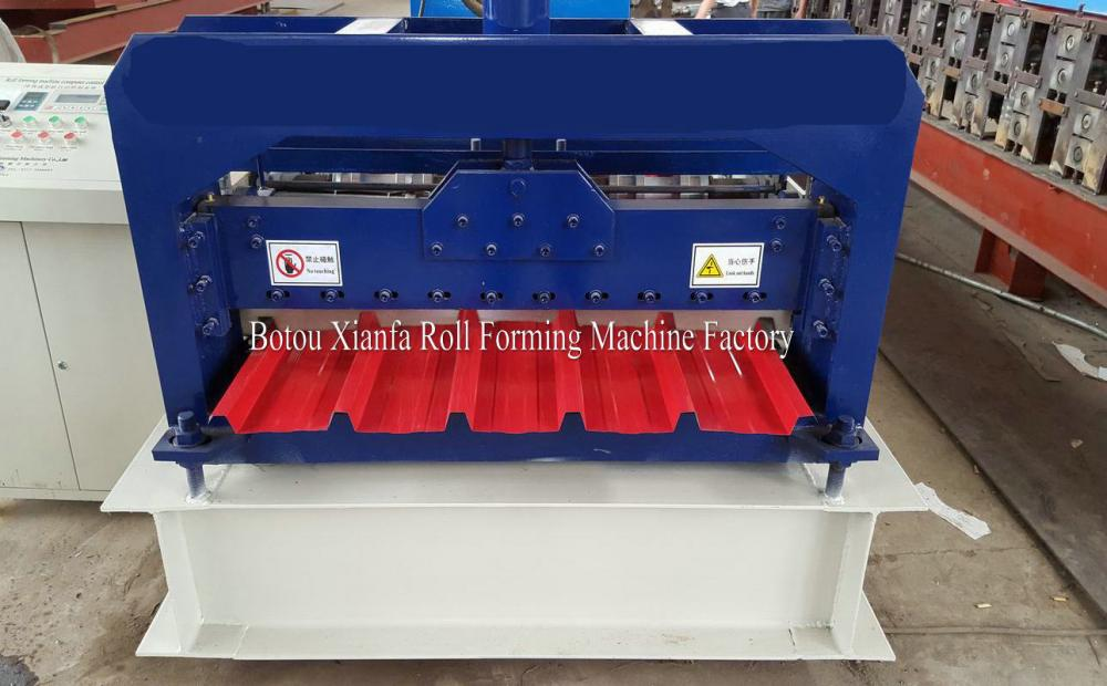CNC Hydraulic Colored Steel Trapezoidal Galvanized roll forming machine