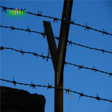 Low Carbon Steel Security Fence Barbed wire