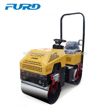 1 Ton Soil Compactor Mini Double Drum Vibratory Tamping Roller (FYL-880)