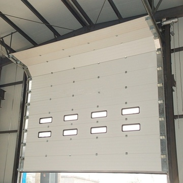 High speed stainless steel sectional door