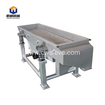 industrial automatic linear vibrating screen for cement