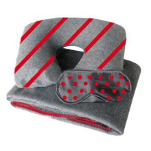 Airplane Blanket Promotional Travel Disposable Amenity Kit