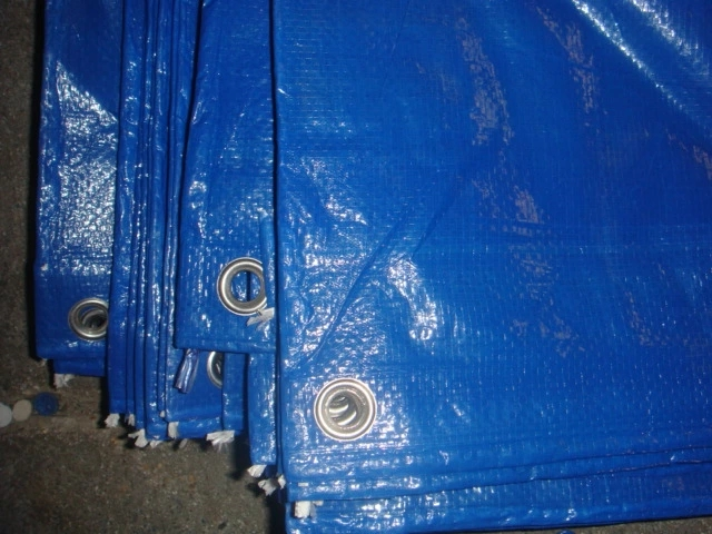 Best Price Blue Tarpaulin Roofing Cover