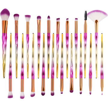 20 PCS Makeup Brushes Nylon Powder Concealer Eyeshadow