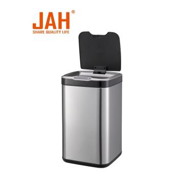 JAH square sensor dustbin for home living room