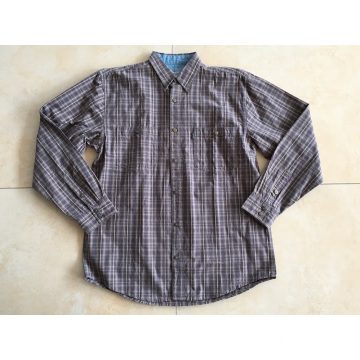 Man Long Sleeve Check Shirt