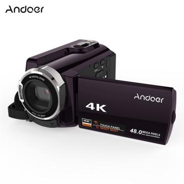 Andoer HDV-534K 4K WiFi Digital Video Camera 1080P Novatek 96660 Chip Camera 3in Touchscreen with IR Infrared Night Sight