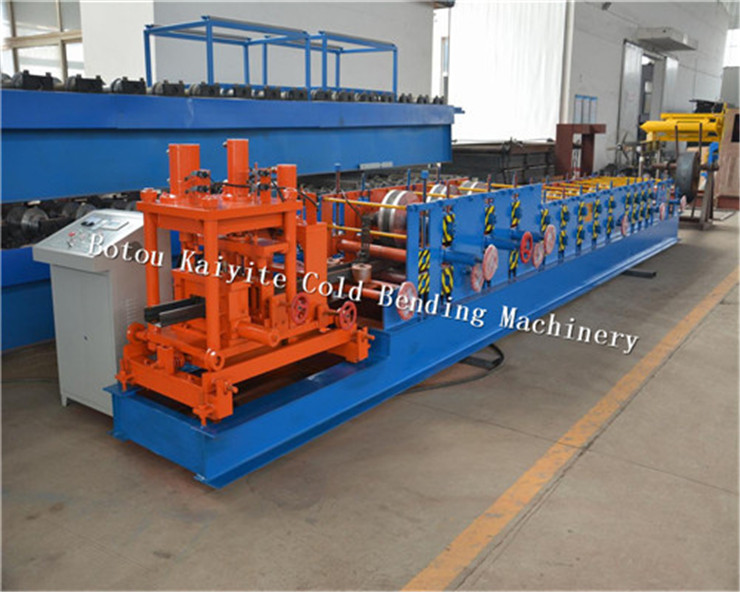 Steel C purlin machine