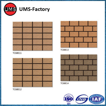 Clinker exterior wall brick