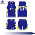 Breathable Mesh Fabric Basketball Practice Jerseys