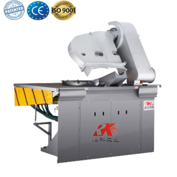 Small aluminum melting foundry furnace for sale