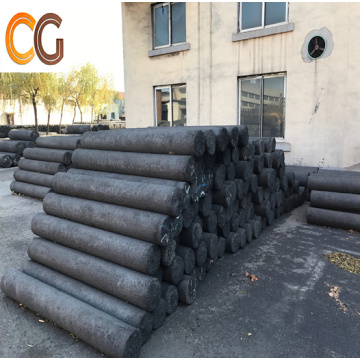 RP Graphite Electrode with Nipples For Arc Furnace