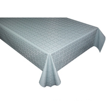 Solid Embossed Fabric Tablecloth 8' Custom Table Covers