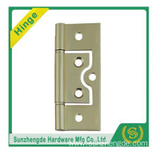 SZD Brass spring loaded hinges