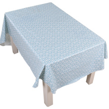 Tablecloth PE with Needle-punched Cotton Classic Rings