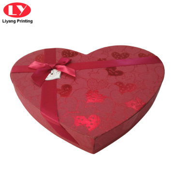 Chocolate Packaging Heart Shape Box Gift
