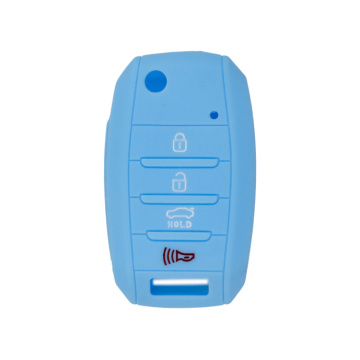 Klasik Kia 4 buttons silicon key cover