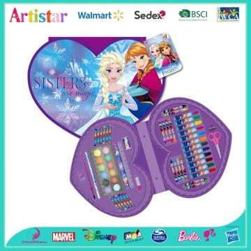 DISNEY FROZEN Heart-shaped 59 pieces art set