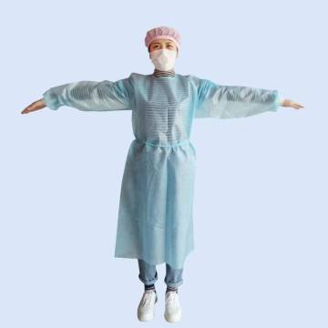 medical disposable isolation suit protective ce waterproof