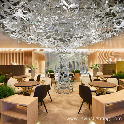 Banquet lobby chandelier pendant lamp