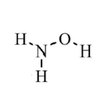 hydroxylamine hydrochloride with acetone