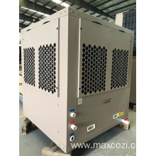 Central Heating and Hot Water Heat Pump System