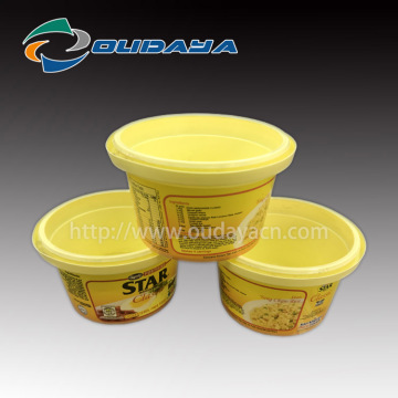 100g IML Margarine Packaging Box Dessert Container