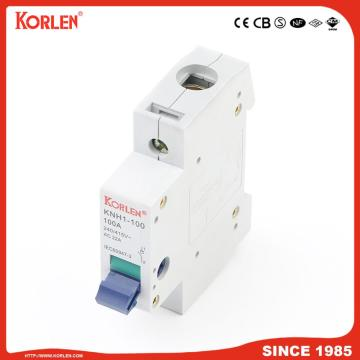 DIN Rail Isolator switch KORLEN KNH1 80A 4p