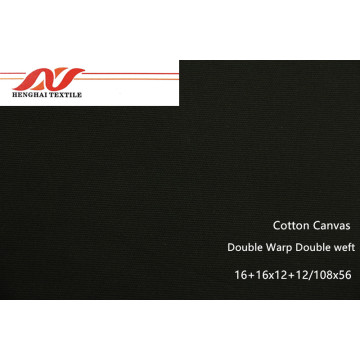 Double Warp Double Weft Cotton Canvas 16+16x12+12/108*56