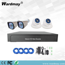 4chs 2.0MP Starlight IP Camera POE NVR Kits
