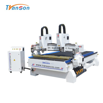 Transon 1530 Double Head CNC Router Machine